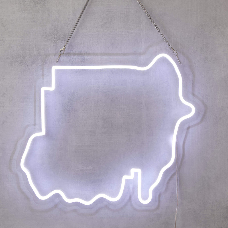 North Sudan Neon Sign - Nominal