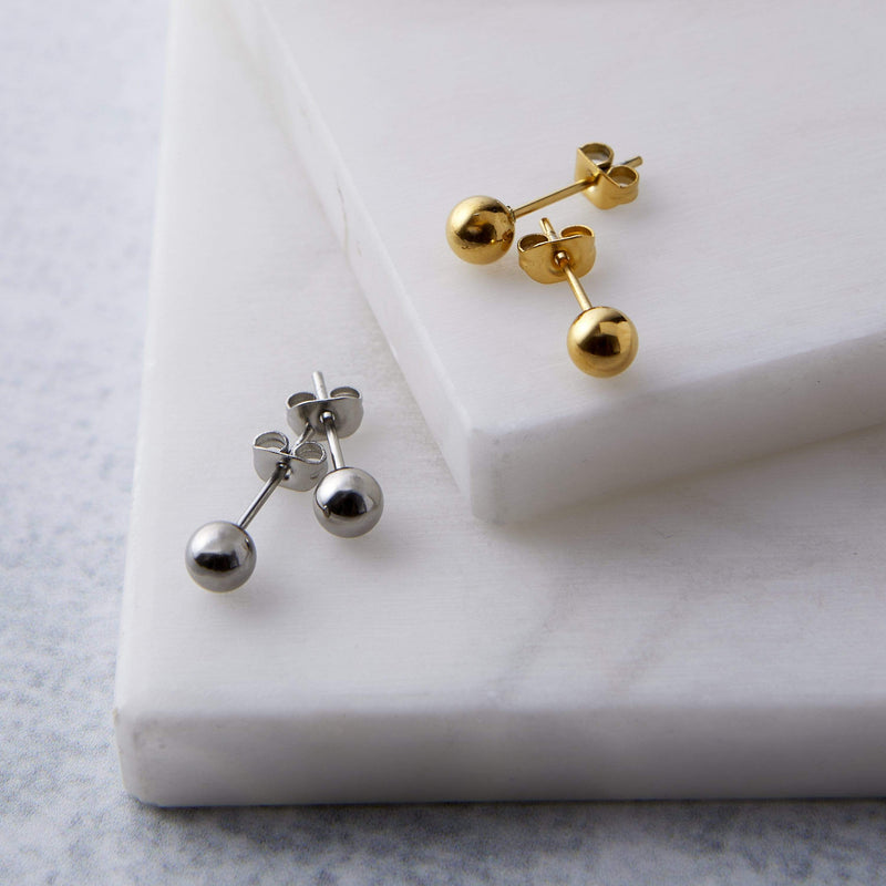 Essential Orb Stud Earrings - Nominal