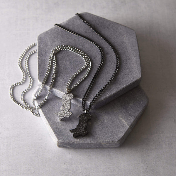 """I Will Remember You"" Pakistan Necklace 