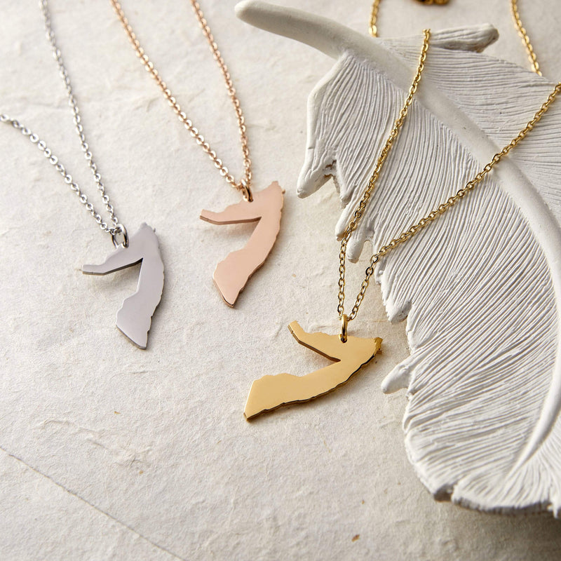 Somalia Map Necklace | Women - Nominal
