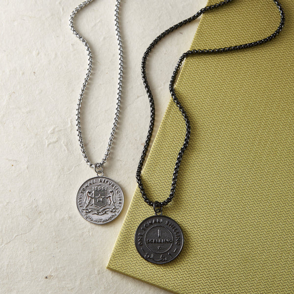 Somalia Coin Necklace | Men - Nominal