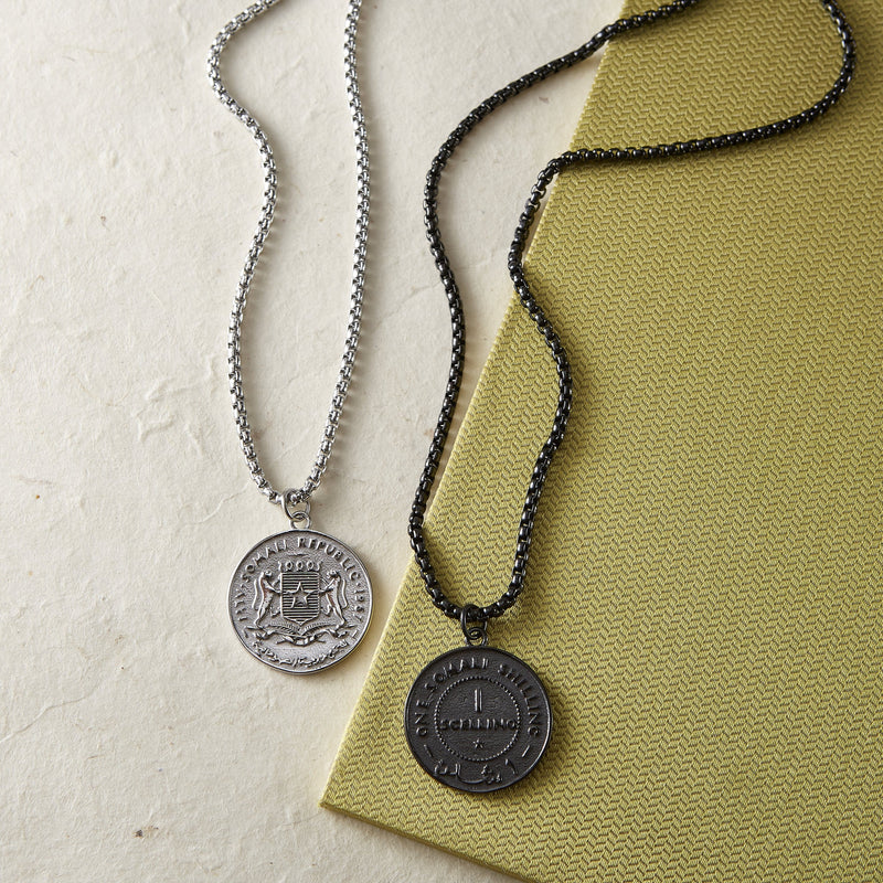 Choose Your Hometown Coin Necklace | Men - Nominal