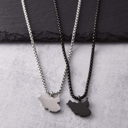 South Sudan Map Necklace | Men - Nominal