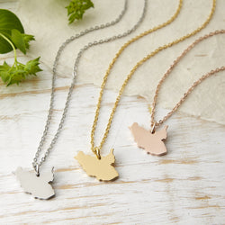 South Sudan Map Necklace | Women - Nominal