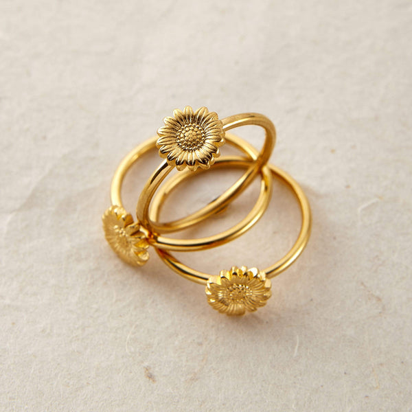 Sunflower Ring - Nominal