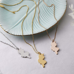 Tunisia Map Necklace | Women - Nominal