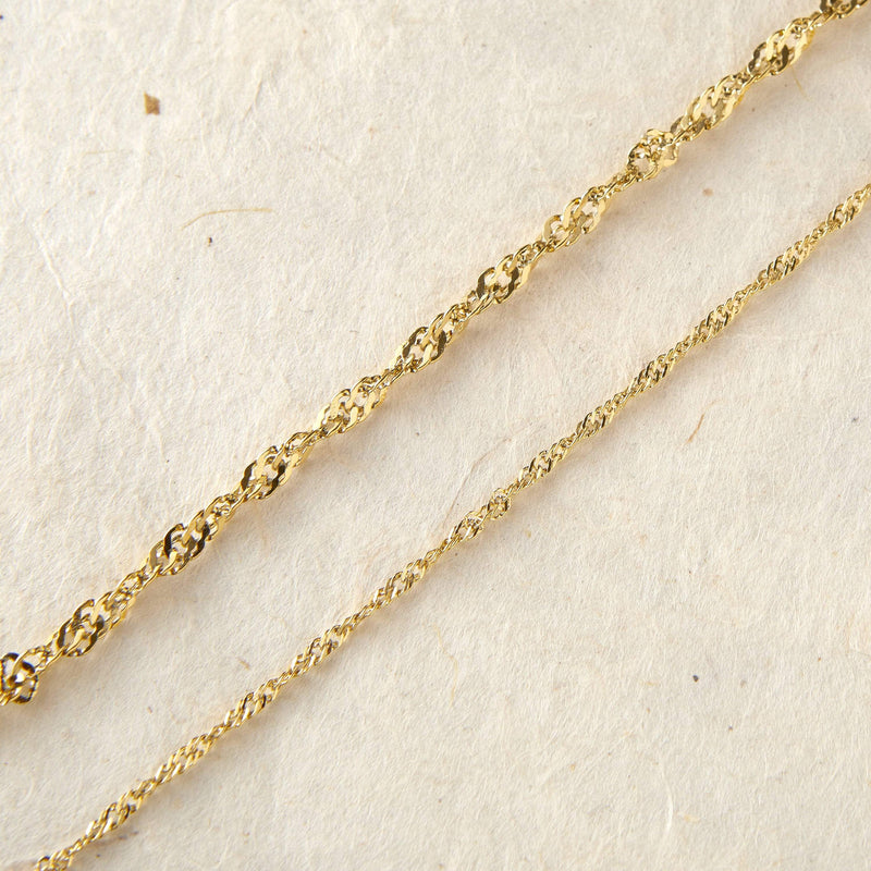 Twisted Chain Anklet - Nominal