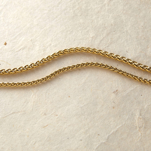 Wheat Chain Anklet