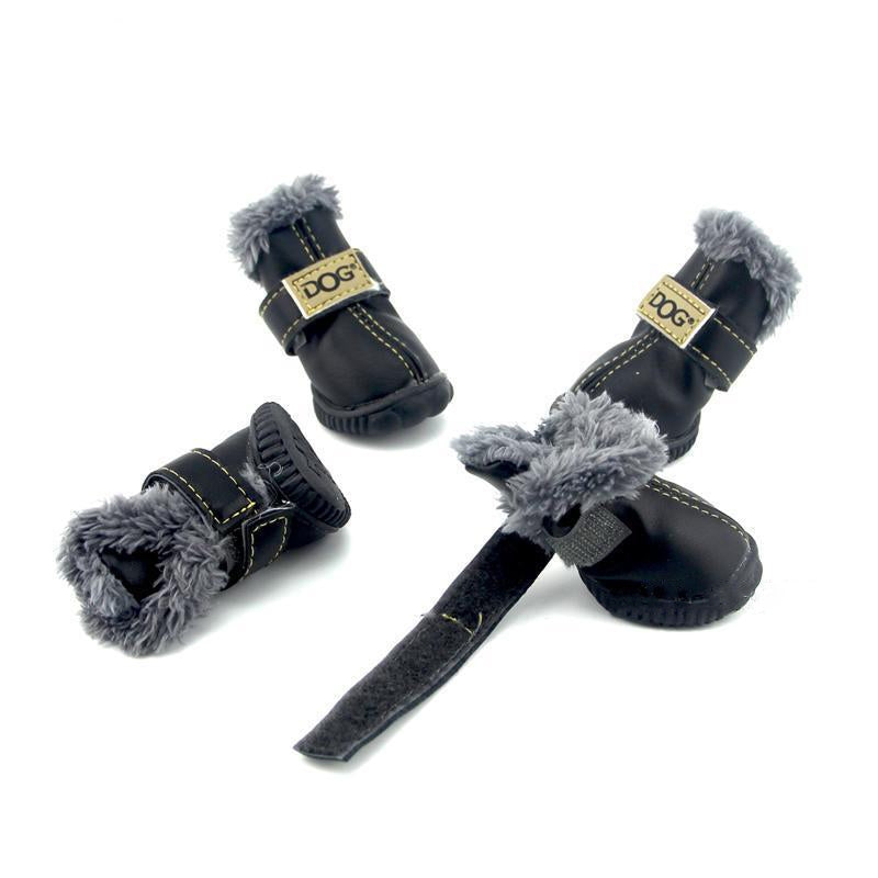 PU Waterproof Dog Shoes - Diddo Furry Tails Pet Store