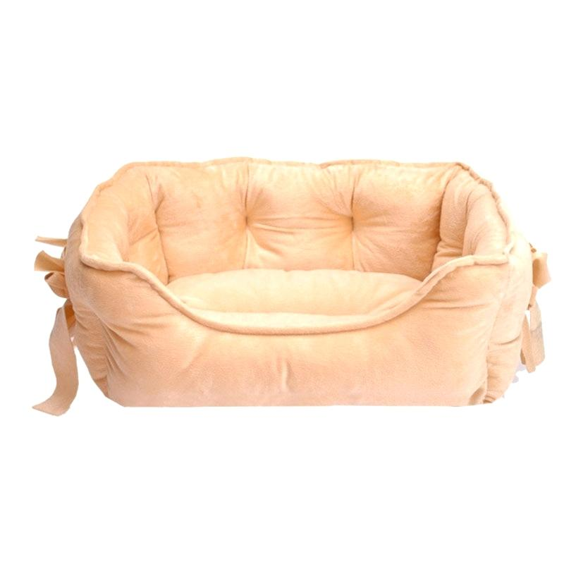 Princess Cat Bed with Bows - Diddo Furry Tails Pet Store