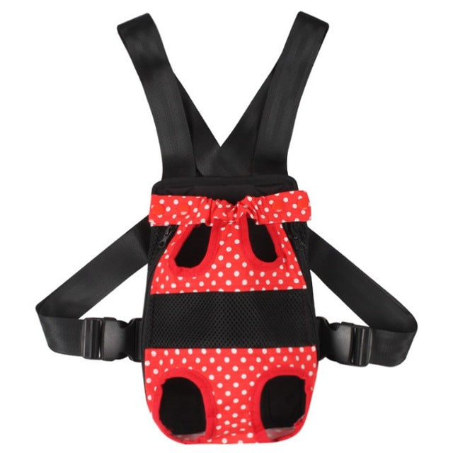 Fashion Pet Bows Backpack Dog Carrier - Diddo Furry Tails Pet Store