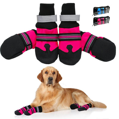 Waterproof Reflective Boots Paw Protector - Diddo Furry Tails Pet Store