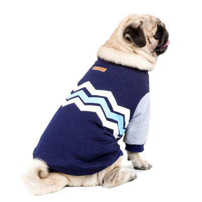 Wave Design Dog Coat - Diddo Furry Tails Pet Store