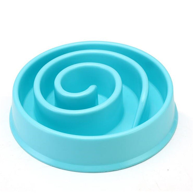 Anti-Choking Healthy Slow Feed Dog Bowl - Diddo Furry Tails Pet Store