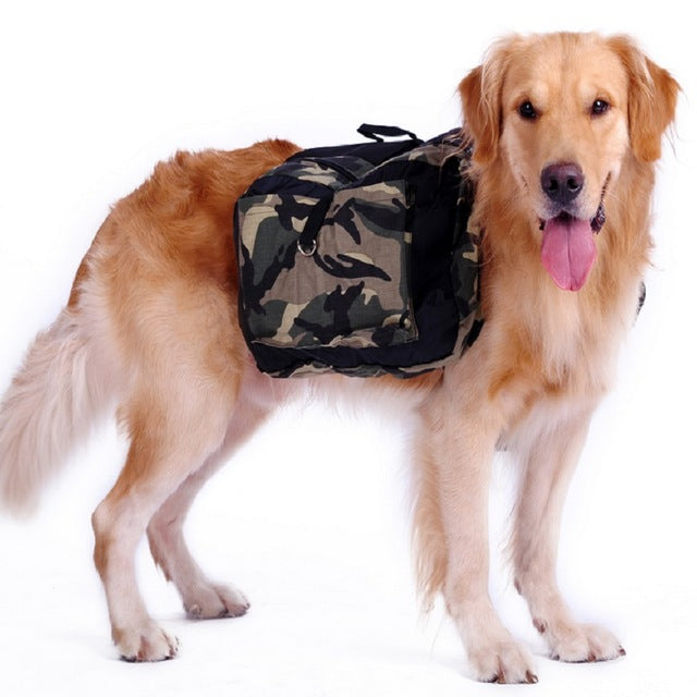 Saddle Camouflage Dog Travel Carriers - Diddo Furry Tails Pet Store
