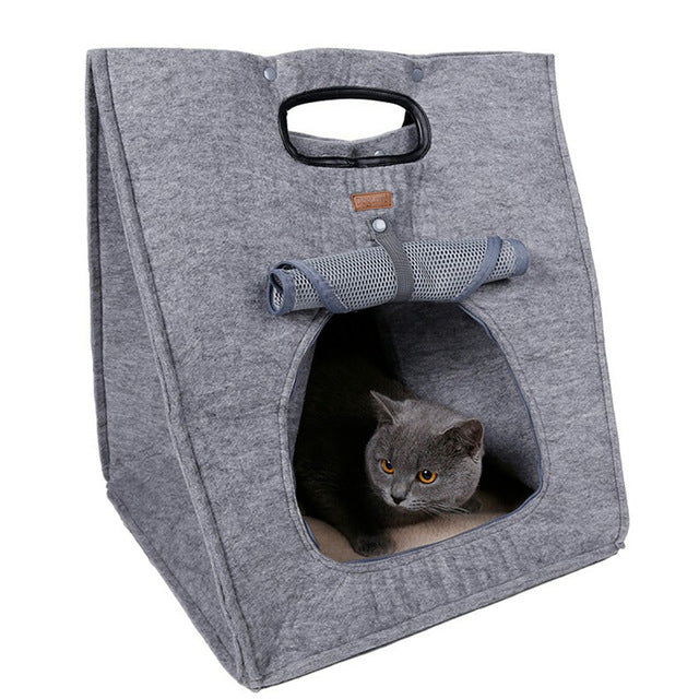 Portable Breathable Cat Beds - Diddo Furry Tails Pet Store