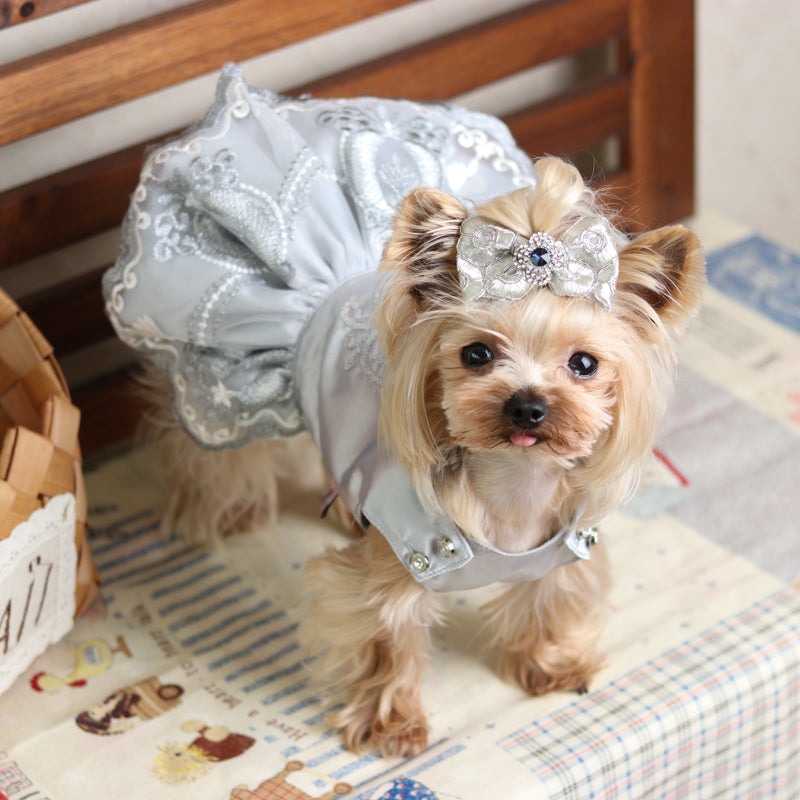 High-end Luxury  Wedding Princess Banquet Dog Dress - Diddo Furry Tails Pet Store