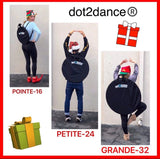 dot2dance Travel Tote Bag,3-in-1 Converting Backpack, Carry Case, Shoulder Strap Bag