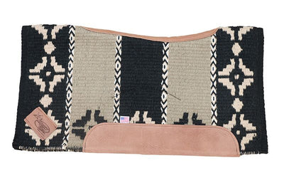 Hunter's Bend Woven Saddle Pad with Felt