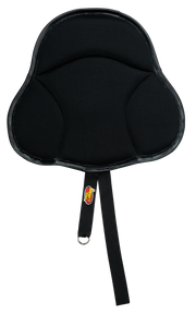 Saddle Seat Cushion with black mesh