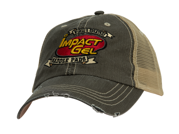 Impact Gel Brown and Khaki Snapback