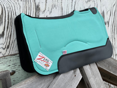 "NEW! 28"" ZERO SLIP Teal Barrel Pad"