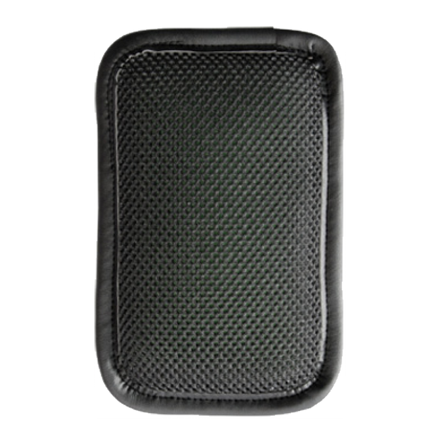 Rectangular shaped Mile Buster Motorcycle Seat Cushion- mesh