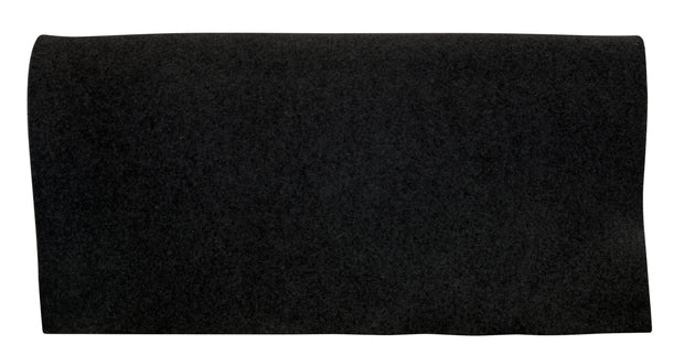 Black saddle pad liner