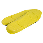 Pair of yellow shoe insoles