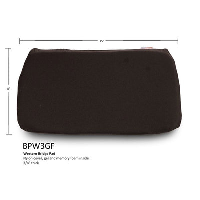 Bridge Pad Accessory black and rectangular shaped