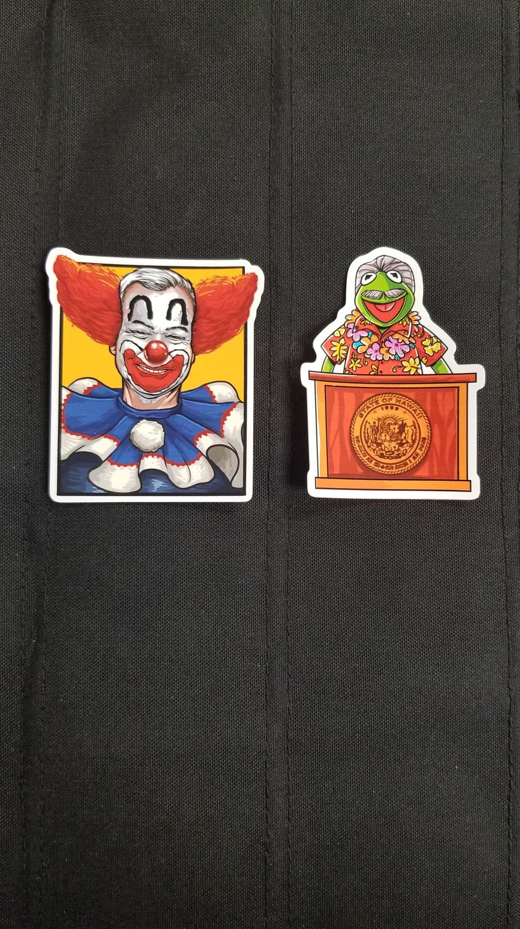 Clownwell/ Ige Da Frog Sticker Pack