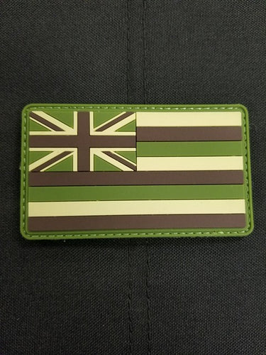 Hawaii State Flag PVC Multicam