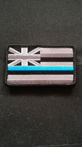 Hawaii State Flag Fabric Thin Blue Line