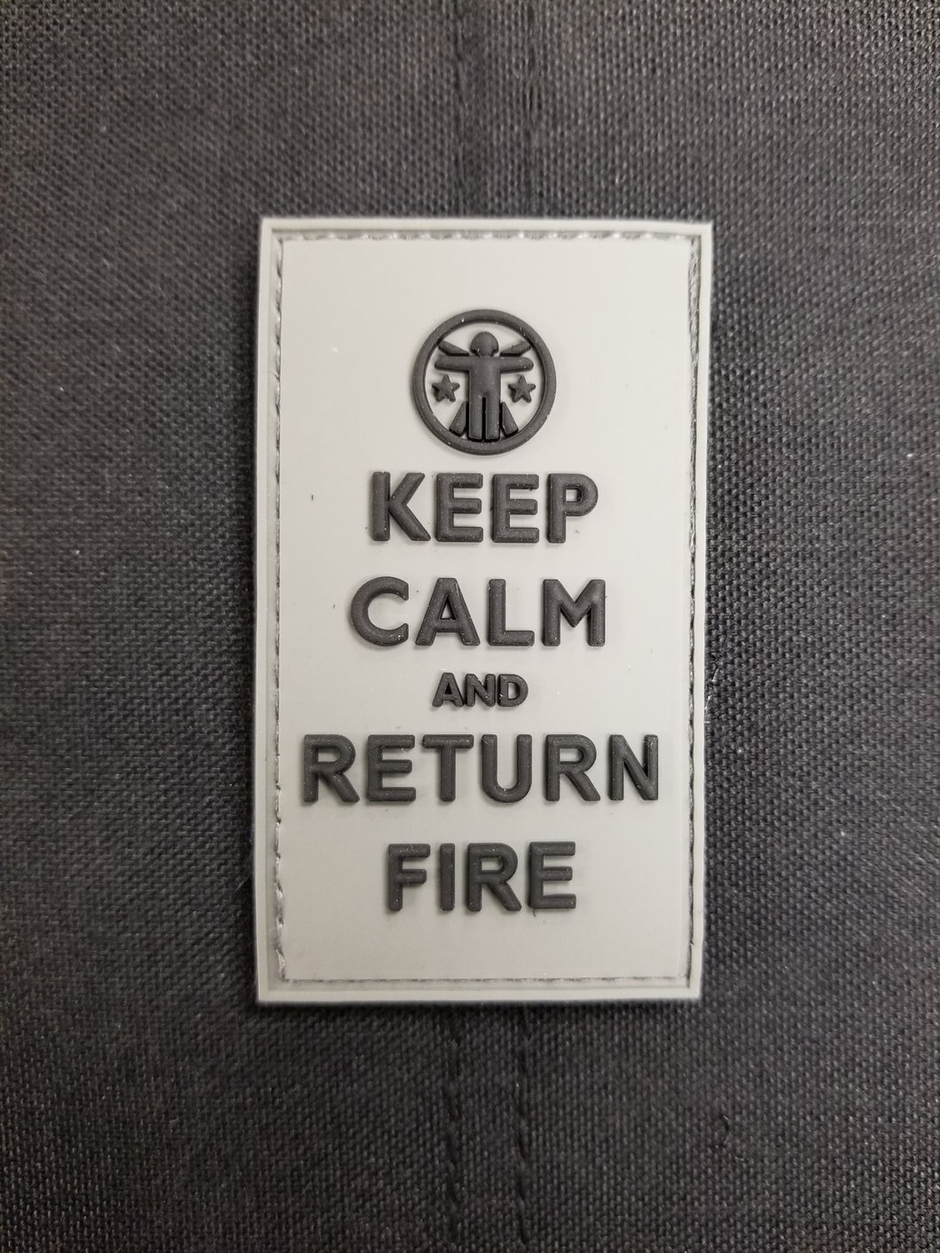 Keep Calm and Return Fire Wolf Edition