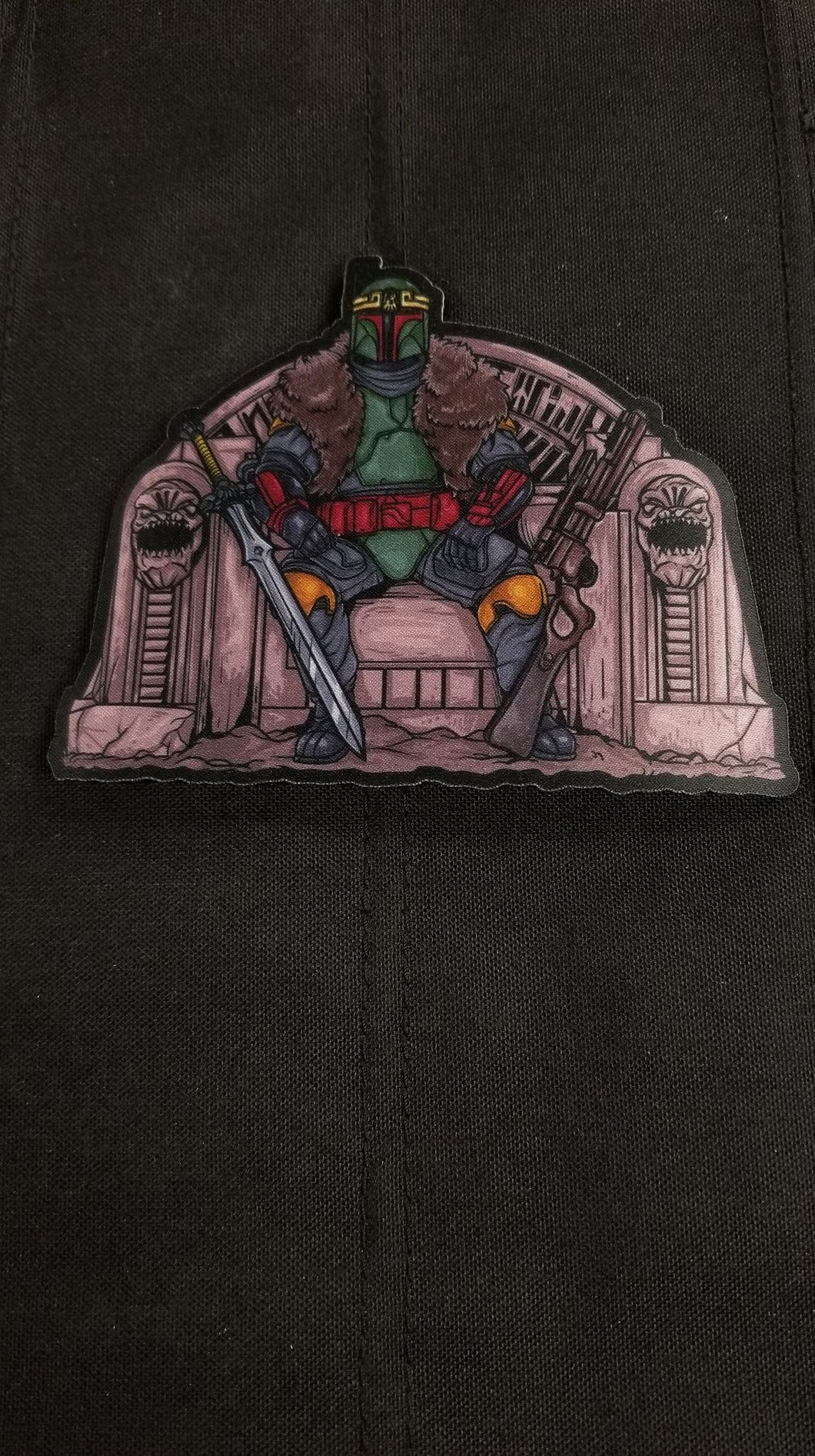 King Boba Patch