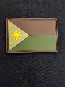Phillippines Flag PVC Woodland