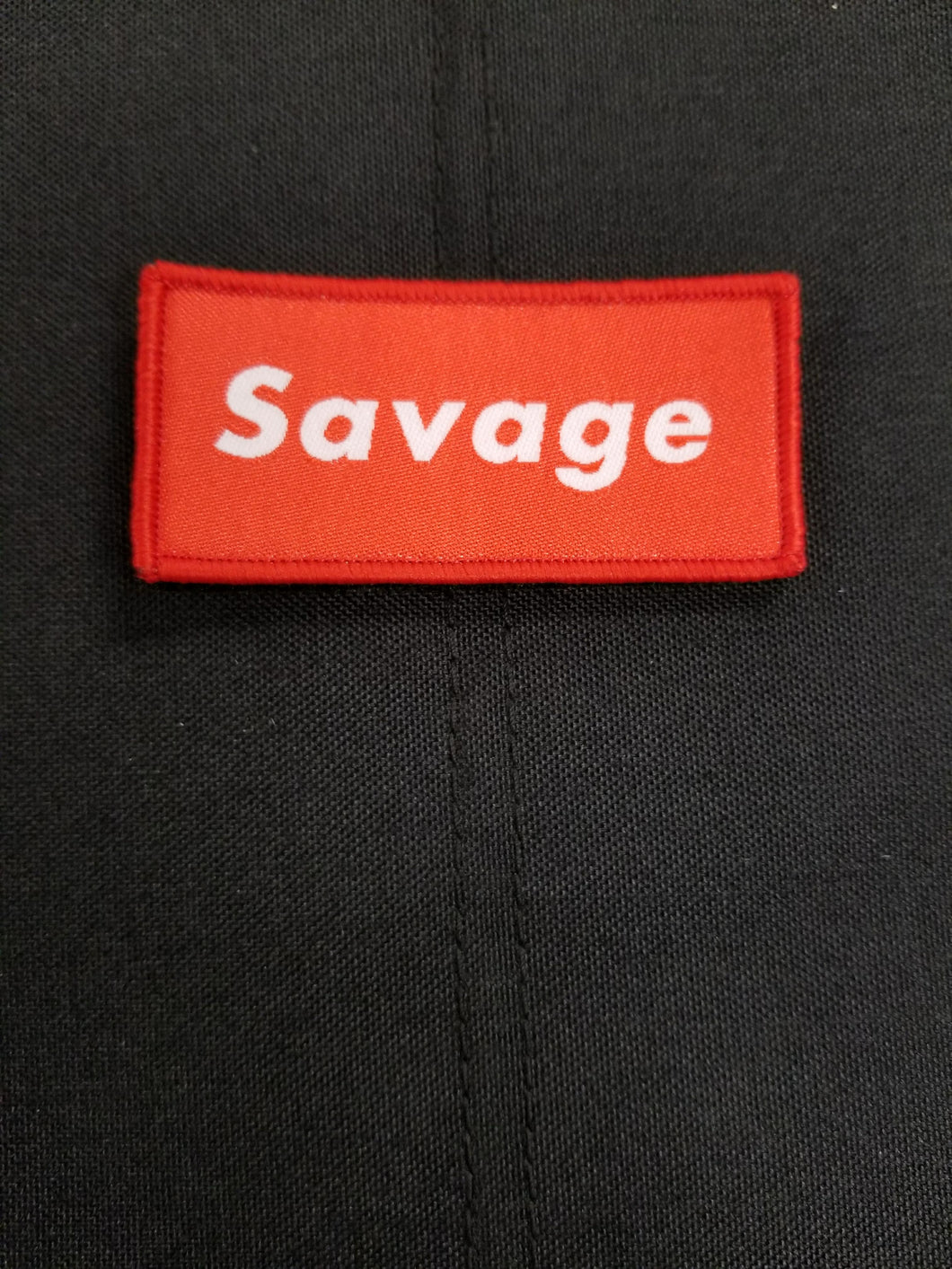 Savage Red Patch