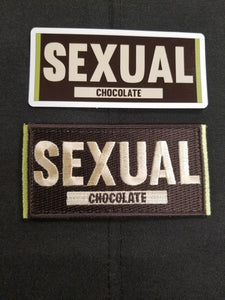 Sexual Chocolate Patch/Sticker Combo