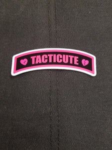 Tacticute v.3 Sticker