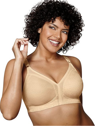 20/27 Playtex 18 Hour Sensational Support Lace Wirefree Bra