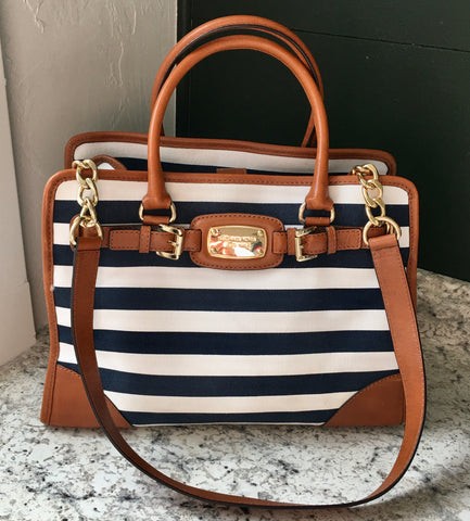 Michael Kors Striped Purse