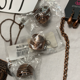 5011 New Boho Jewelry LOT 8pc Antique Copper Paparazzi