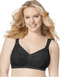 1107 JMS Just My Size Easy-On Front Close Bra