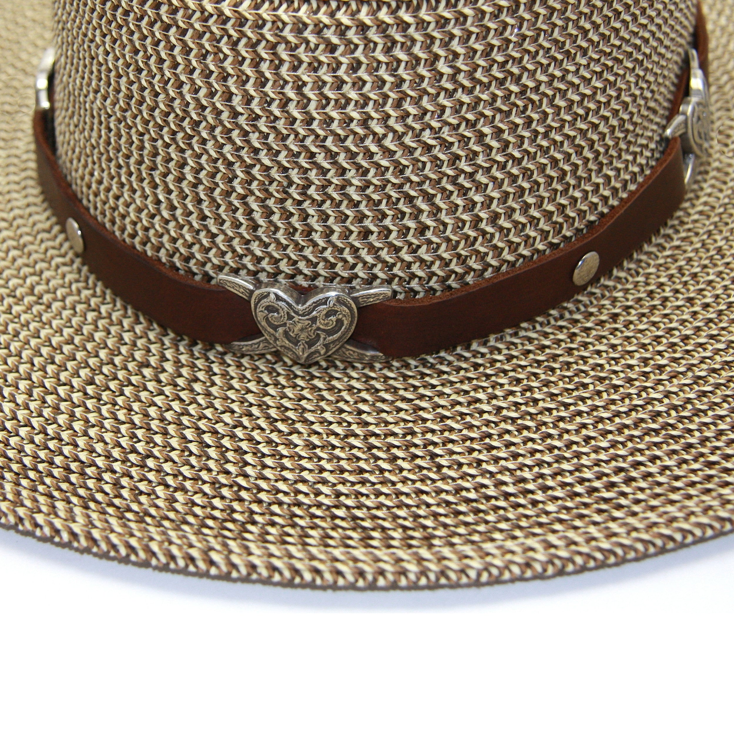 6d4e89a6c15 Cowgirl Chic Heart Concho Hat Band – Fonda James