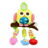 Owl Baby Rattle Bell