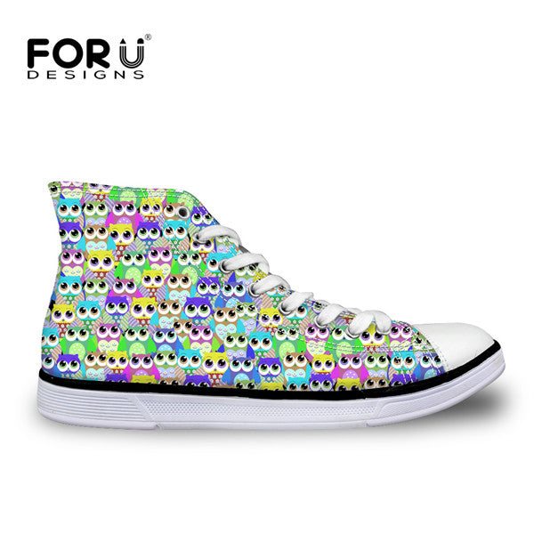 FORUDESIGNS Women Casual Canvas Shoes