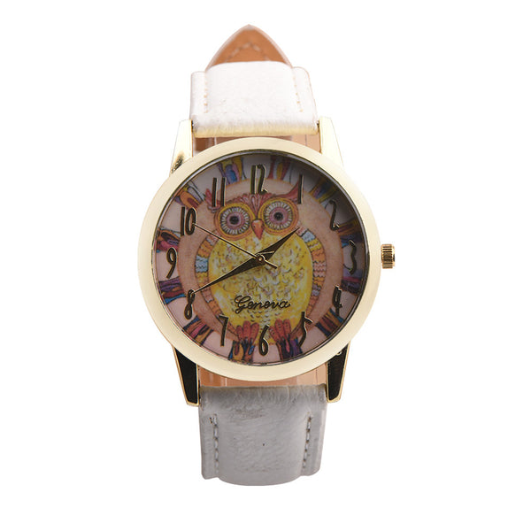 Retro Analog Leather Watch
