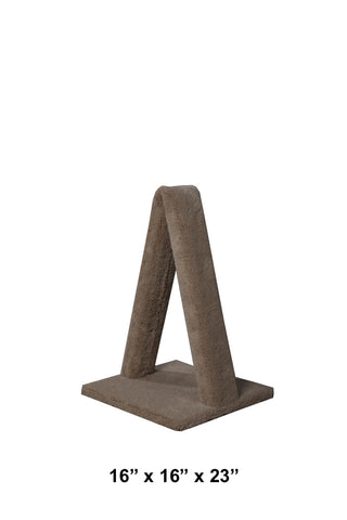 "Model 12 - 23"" A-Frame Scratch Post. NEW PRICE!!"