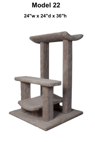 Model 22 - 3' Tall Cat Tree