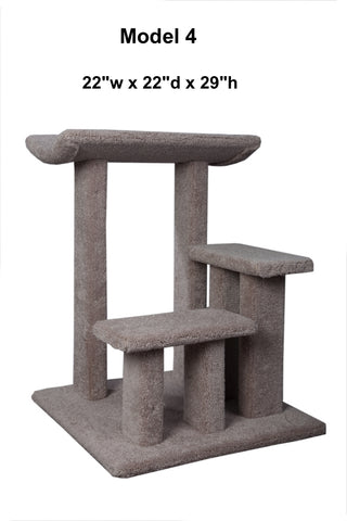 "Model 4 - 29"" Tall Multi-Level Cat Tree"
